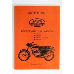 Katalog náhradních dílů - Jawa 362/00 Californian Oilmaster
